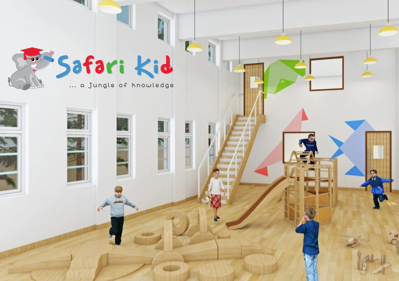 Safari Kid: A new approach to schooling