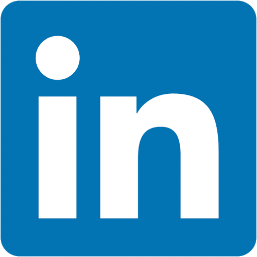 This image has an empty alt attribute; its file name is linkedinlogo.png